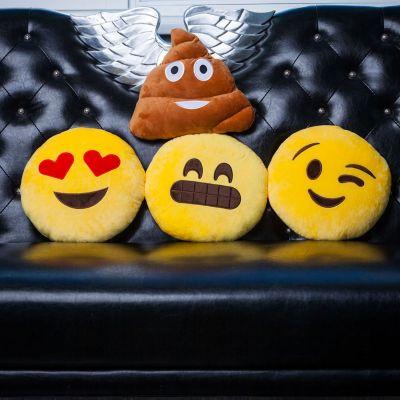 Romantisch cadeau - Emoji kussen