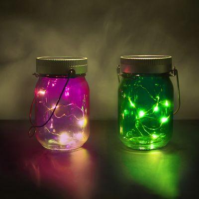 Verjaardagscadeau voor moeder - Set van 2 Fairy Jars