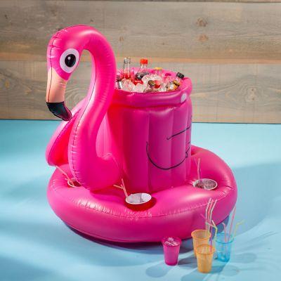 Afstudeercadeau - Opblaasbare flamingo bar