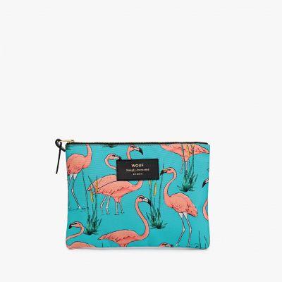 Kleding & accesoires - Elegant flamingo tasje