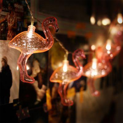 Romantisch cadeau - Flamingo lichtsnoer