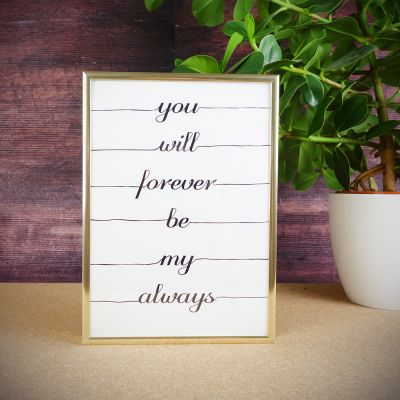 Exclusieve posters - Forever always poster