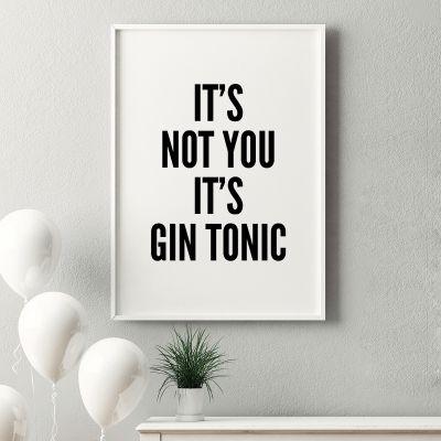 Exclusieve posters - It's Not You It's ... poster van MottosPrint