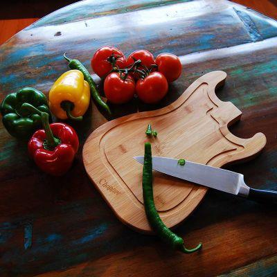 Keuken & barbeque - Gitaar snijplank