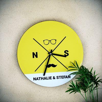 Klokken - Personaliseerbare hipster wandklok