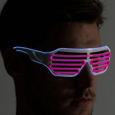 Cadeau voor broer - Bril met kleurrijke LEDs