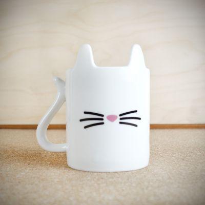Kerstcadeau voor haar - Beestige kat koffiemok