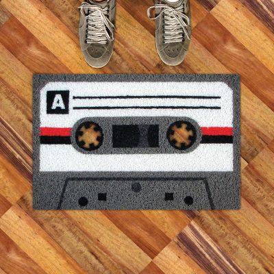 Cadeau voor ouders - Cassettebandjes deurmat