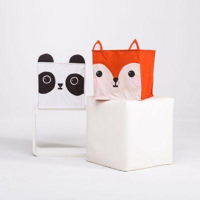 Decoratie - Vos en panda lampenkap