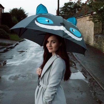 Afscheidscadeau - Kat paraplu