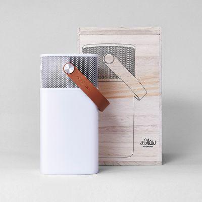 Gadgets & Techniek - aGlow luidspreker-licht met Bluetooth