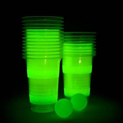 Gadgets voor festival - Lichtgevend BierPong-spel