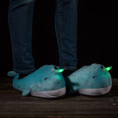 Kleding - Lichtgevende walvis pantoffels