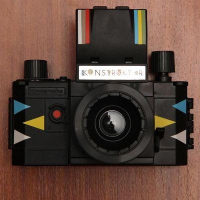 Sinterklaas cadeau - DIY Konstruktor SLR lomografie camera