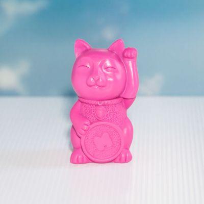 Cadeau voor kinderen - Gelukspoes markeerstift in het roze