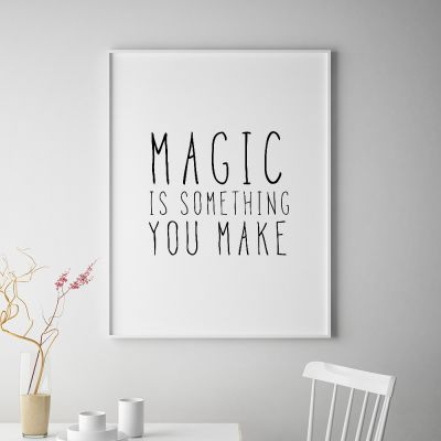 Posters - Magic poster van MottosPrint