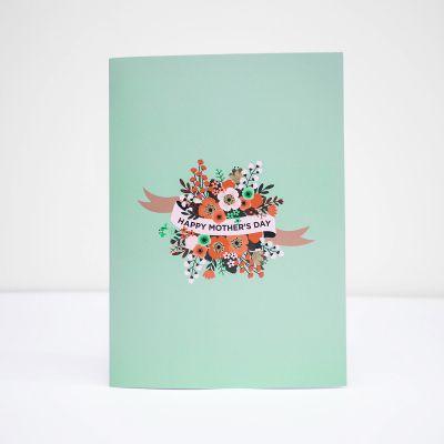 Cadeau voor mama - De Moederdagkaart die niet stopt
