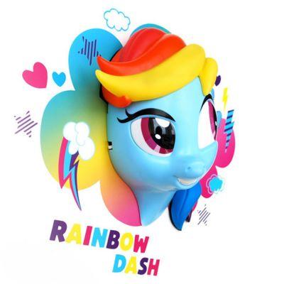 Cadeau voor kinderen - My Little Pony 3D regenboog lamp