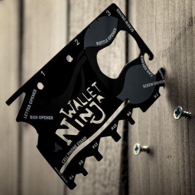 Gadgets voor festival - Ninja 18 in 1 universeel gereedschap