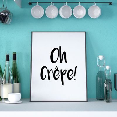 Exclusieve posters - Oh Crêpe poster