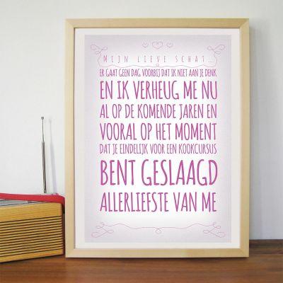 Exclusieve posters - Romantiek - personaliseerbare poster
