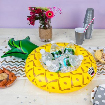 Zomer gadgets - Opblaasbare mini ananas snackbar