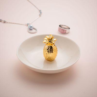 Decoratie - Ananas juwelenschaaltje