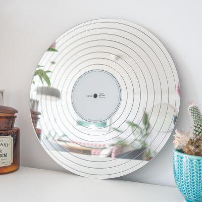 Decoratie - Platina LP spiegel