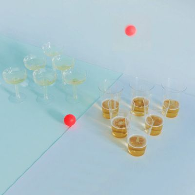 Fun & Games - Prosseco- en bierpong set