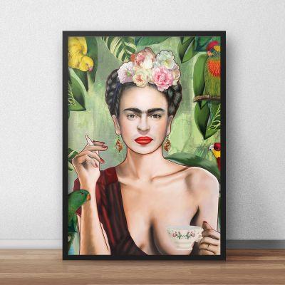Exclusieve posters - Frida poster van Nettsch