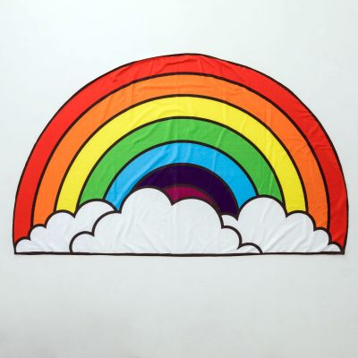 Cadeau voor kinderen - Regenboog strandlaken