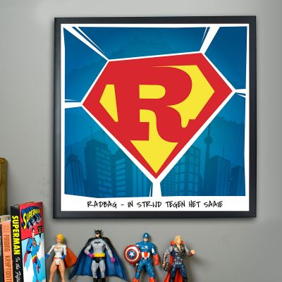 Kleine cadeautjes - Superman – personaliseerbare Poster