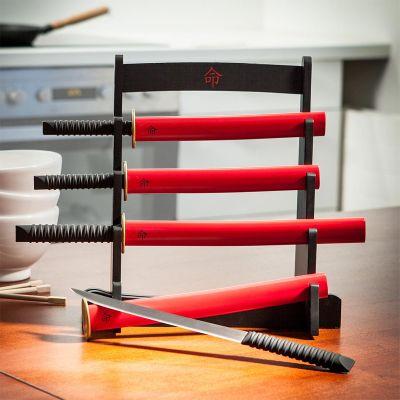 Retro kamer - Samurai Keukenmessenset