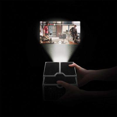 Sinterklaas cadeau - Smartphone projector van karton