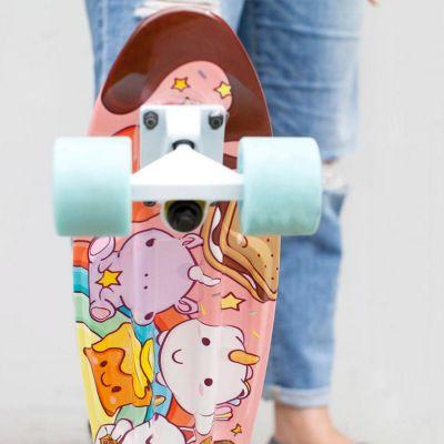 Eenhorn cadeaus - Eenhoorn & Co. skateboard