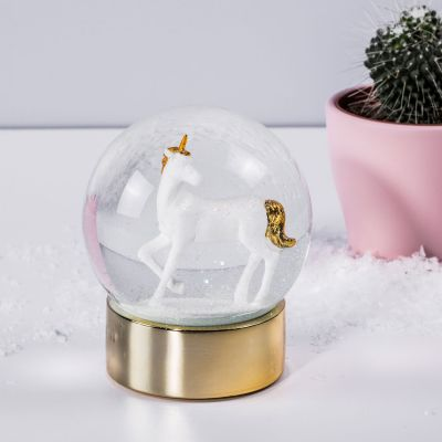 Cadeau voor kinderen - Eenhoorn sneeuwbol