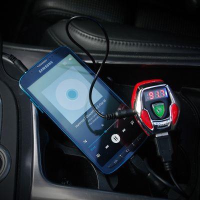 Luidsprekers & headsets - Sound Racer V12 - Ferrari sound voor de auto met FM-transmitter