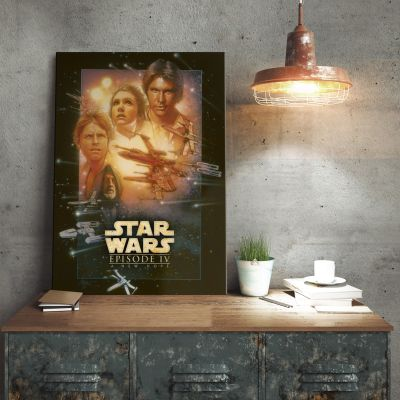 Film & Serie - Star Wars metaalposter - A New Hope