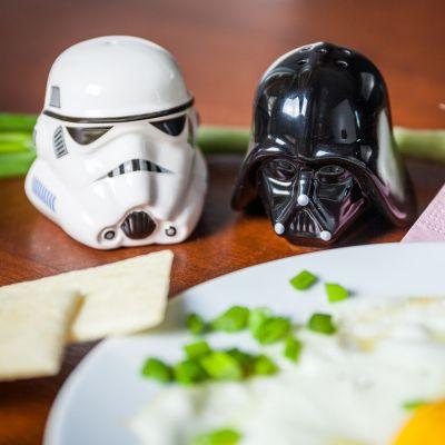 Cadeau voor broer - Star Wars zout- en peperstrooier