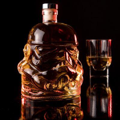 Verjaardagscadeau voor vader - Glazen Stormtrooper karaf