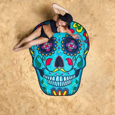 Badkamer - Sugar Skull strandlaken