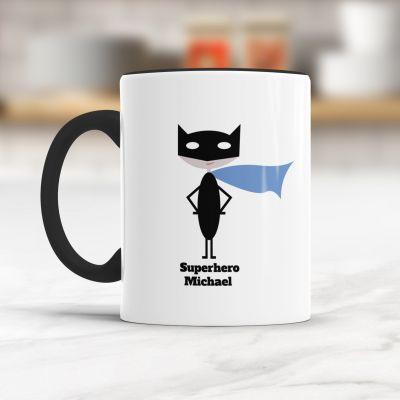 Paascadeau - Superheld/in - Personaliseerbare mok