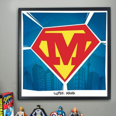 Exclusieve posters - Superman – personaliseerbare Poster