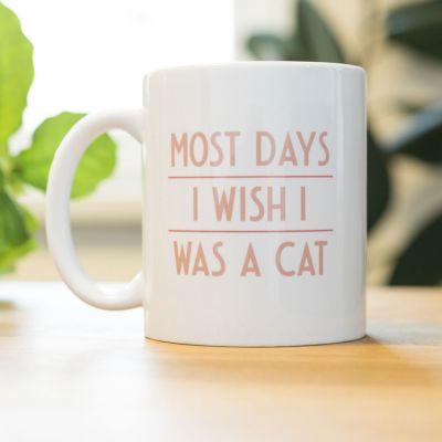 Sinterklaas cadeau - Most Days I Wish ... mok