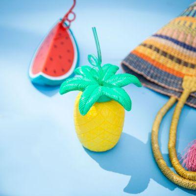 Zomer gadgets - Fruitige beker met rietje