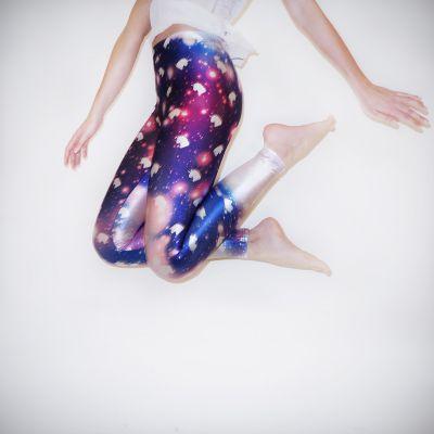 Eenhorn cadeaus - Galaxy eenhoorn leggings