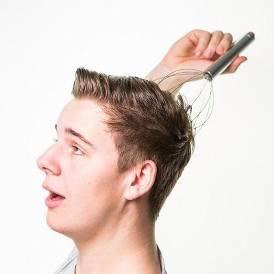 Badkamer - Angel Fingers massageapparaat voor het hoofd