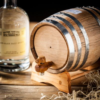 Retro kamer - Zelf whisky maken - met eiken vat