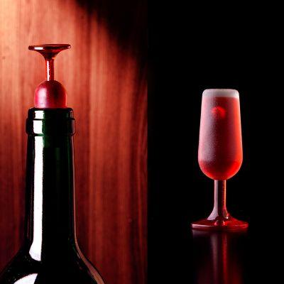 Bar accesoires - Wijnglas flessluiting – Set van 2