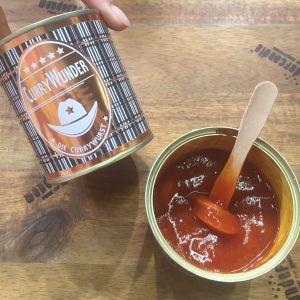 Currywunder – curryworst in blik